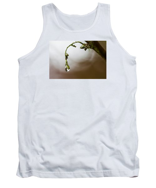 Sometimes It's Hard To Let Go Tank Top by Mark Alder