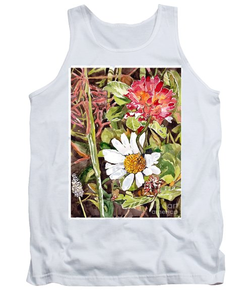 Somewhere In The Grass Tank Top