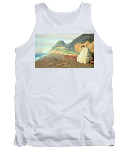 Tank Top featuring the painting Song For My Brother by Laurie Stewart
