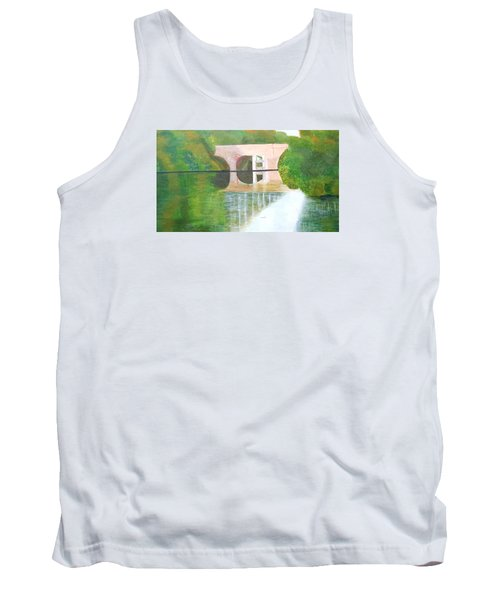 Sonning Bridge In Autumn Tank Top