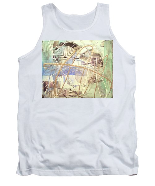 Tank Top featuring the painting Soothe by Melissa Goodrich