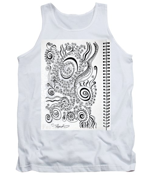 Sound Of The Lines Tank Top