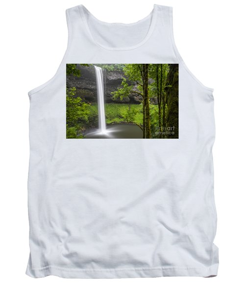 South Falls In Silver Falls State Park Tank Top