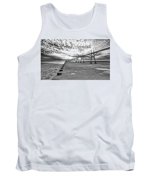 South Haven Pier Wide Angle Tank Top