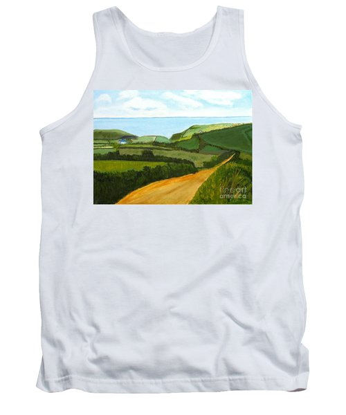 South West England Countryside Cotswold Area Tank Top
