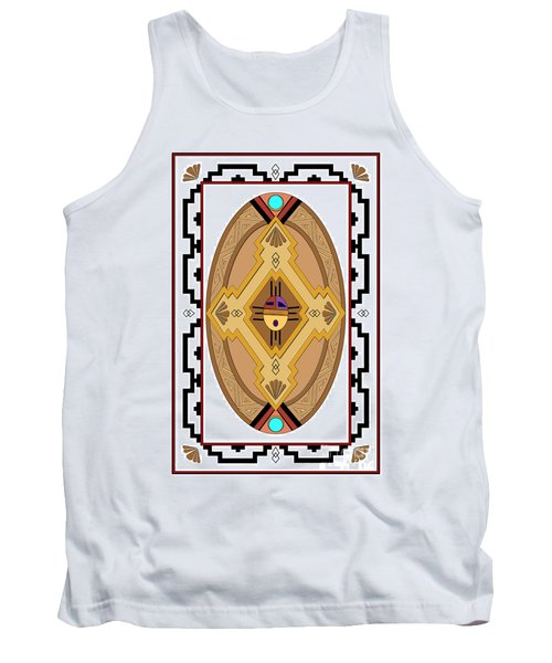 Southwest Collection - Oval Design Tank Top