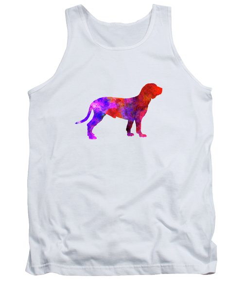 Spanish Hound In Watercolor Tank Top