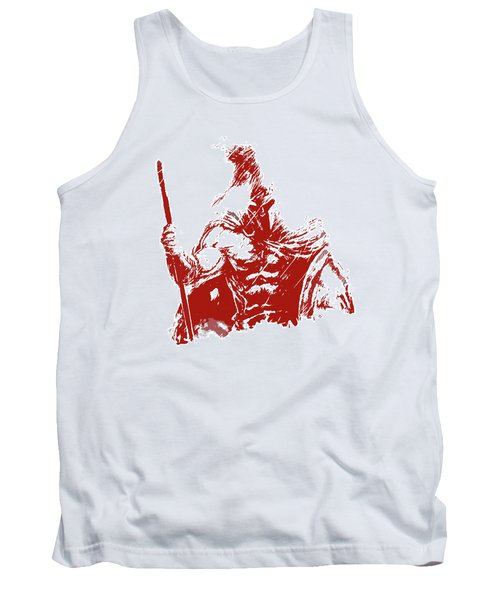 Spartan Warrior - Battleborn Tank Top