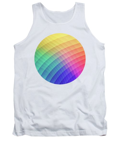 Spectrum Bomb Fruity Fresh Hdr Rainbow Colorful Experimental Pattern Tank Top
