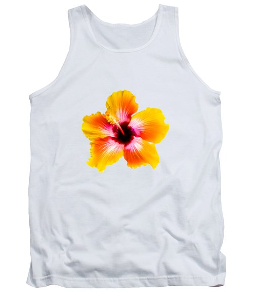 Spin The Bottle Hibiscus Tank Top