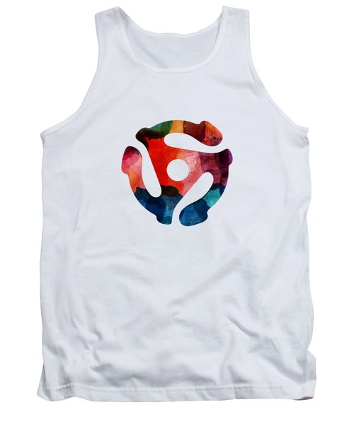 Spinning 45- Art By Linda Woods Tank Top