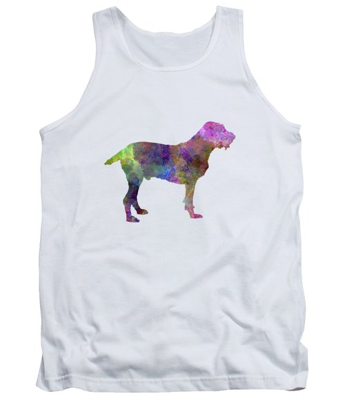 Spinone In Watercolor Tank Top by Pablo Romero