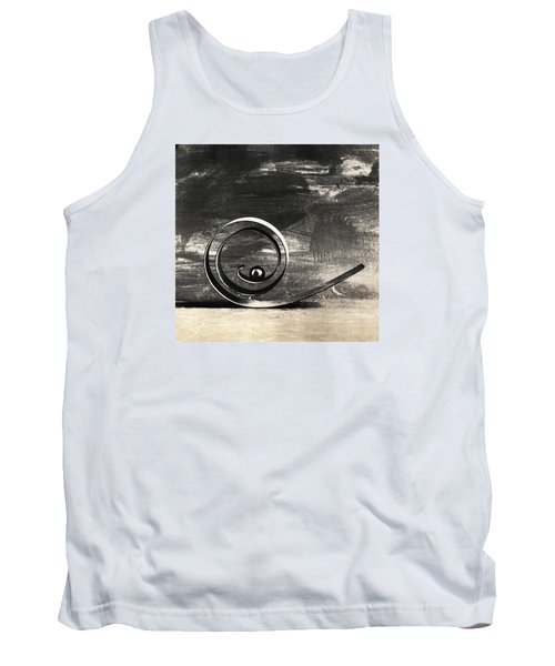 Tank Top featuring the photograph Spiral And Ball by Andrey  Godyaykin