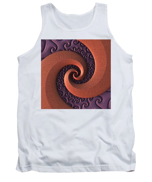 Tank Top featuring the digital art Spiralicious by Lyle Hatch