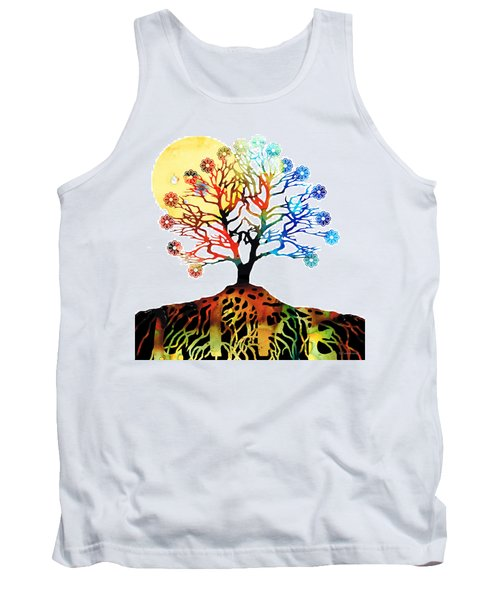 Spiritual Art - Tree Of Life Tank Top