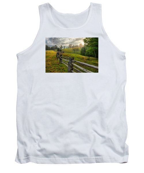Splash Of Morning Light Tank Top