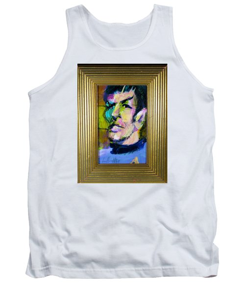 Spock Tank Top by Les Leffingwell