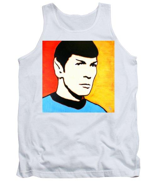 Spock Vulcan Star Trek Pop Art Tank Top