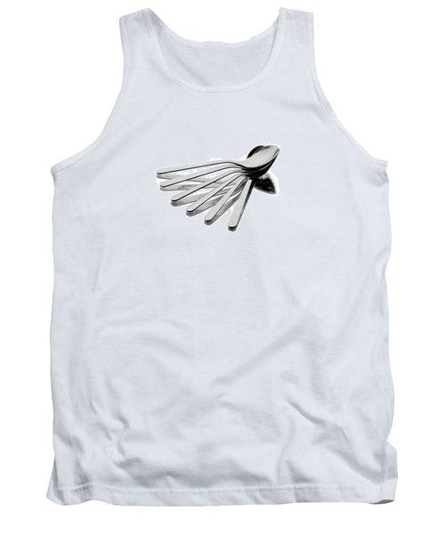 Tank Top featuring the photograph Spoon Fan by Gert Lavsen