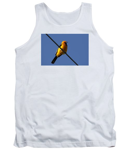 Spot Breasted Oriole Tank Top