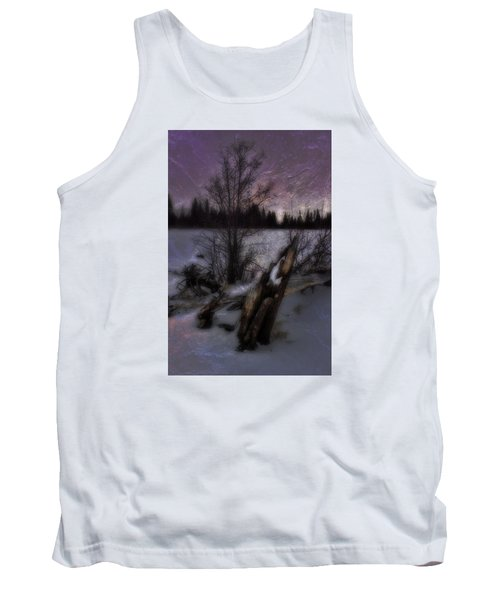 Tank Top featuring the photograph Sprague Lake Winter Dream by Ellen Heaverlo