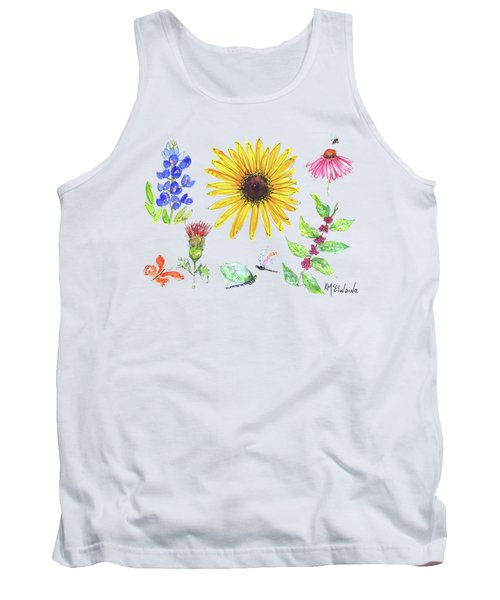 Spring 2017 Medley Watercolor Art By Kmcelwaine Tank Top