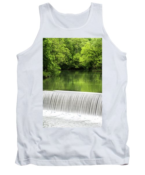 Tank Top featuring the photograph Spring At Buck Creek by Parker Cunningham