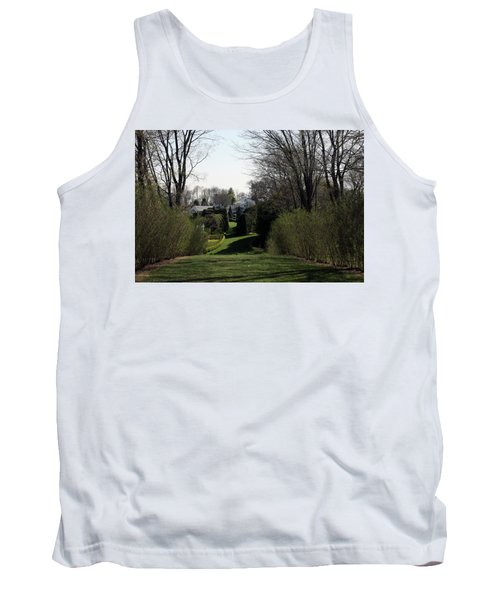 Spring At Ladew Topiary Gardens Tank Top