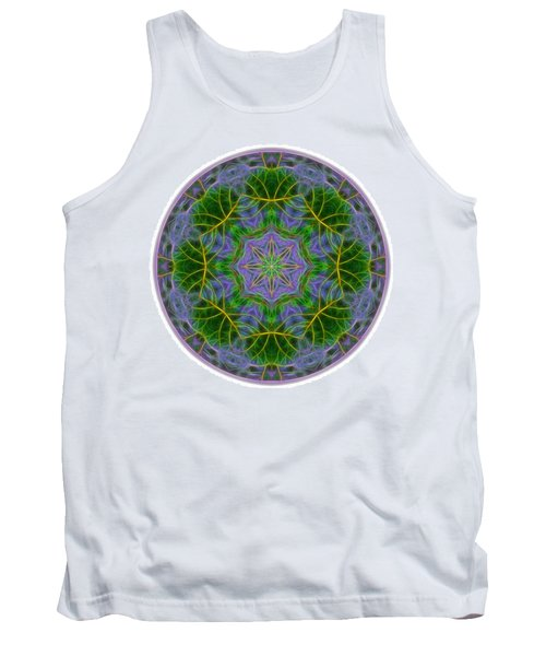 Spring Bloom Colors Mandala Tank Top