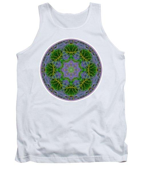 Spring Bloom Colors Mandala Tank Top
