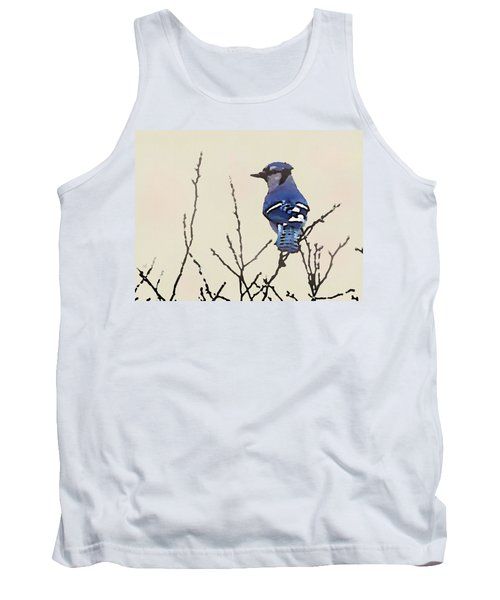 Spring Bluejay Tank Top