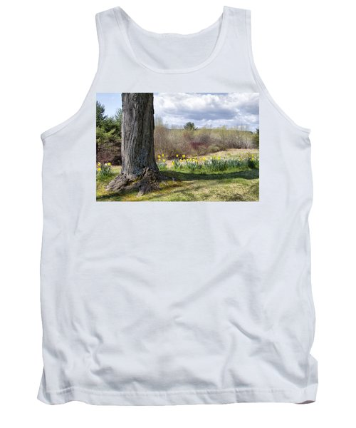 Spring Daffodils  Tank Top by Betty Pauwels