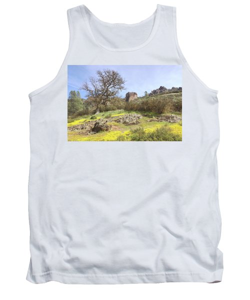 Tank Top featuring the photograph Spring In Pinnacles National Park by Art Block Collections