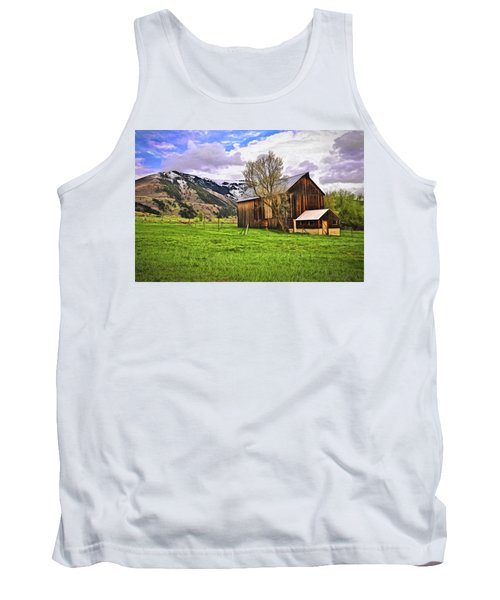 Spring Is All Ways A Good Time Of The Year Tank Top by James Steele
