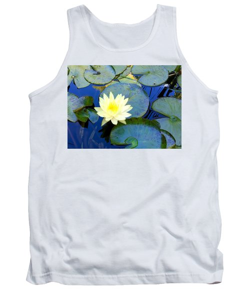 Spring Lily Tank Top by Angela Annas