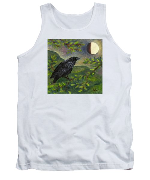 Spring Moon Raven Tank Top
