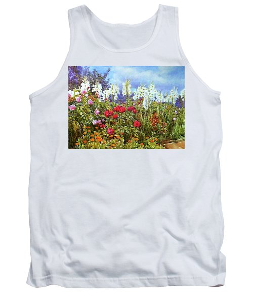 Tank Top featuring the photograph Spring by Munir Alawi