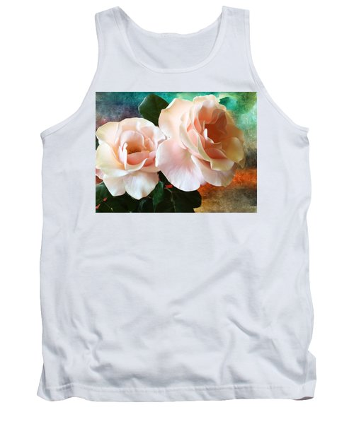 Tank Top featuring the photograph Spring Roses by Gabriella Weninger - David