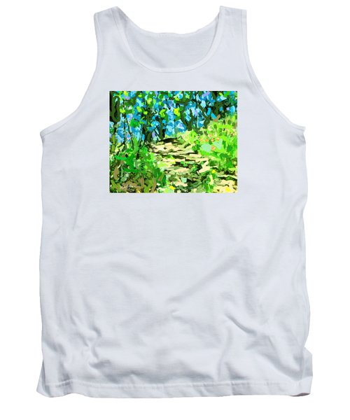 Spring Wood Path  Tank Top