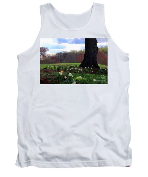 Tank Top featuring the photograph Springing Forward At Edgemont Golf Course by Polly Peacock