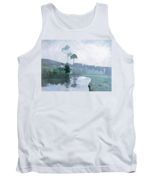 Tank Top featuring the painting Springtime by John Henry Twachtman