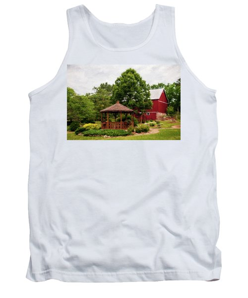 Tank Top featuring the photograph Springwater Park by Trey Foerster