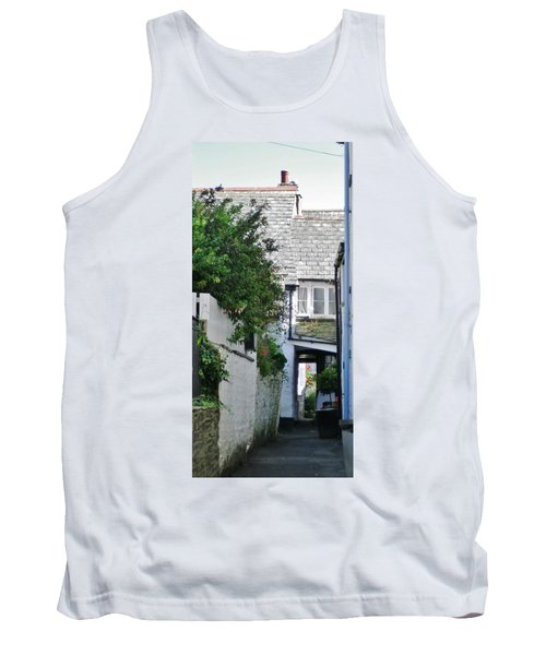 Squeeze-ee-belly Alley Tank Top by Richard Brookes