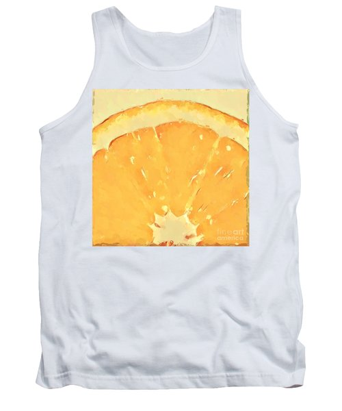 Tank Top featuring the mixed media Squeeze Me 2 by Anthony Fishburne
