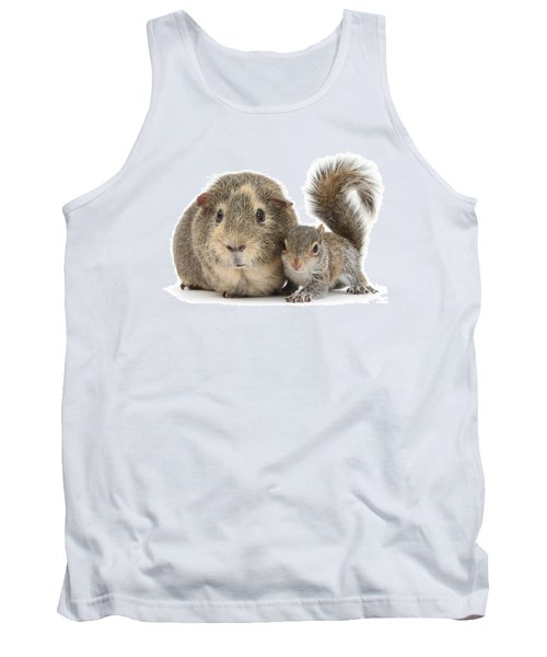 Squirrel And Guinea Tank Top