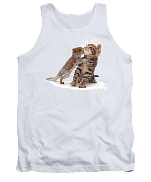 Squirrel Kiss Tank Top