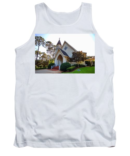 Tank Top featuring the photograph St. James V2 Fairhope Al by Michael Thomas