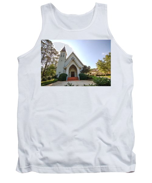 Tank Top featuring the photograph St. James V3 Fairhope Al by Michael Thomas