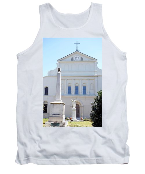 St. Louis Cathedral Back Lawn Tank Top