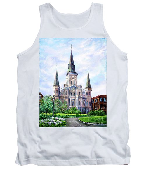 St. Louis Cathedral Tank Top